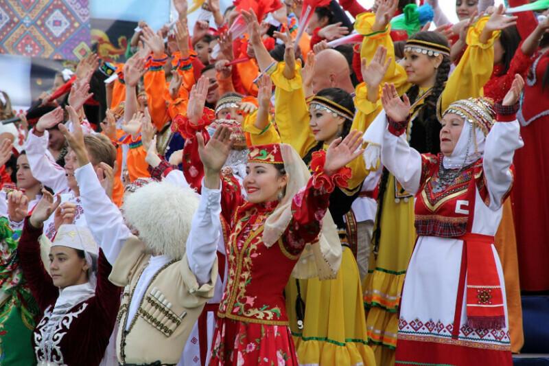 Россия многонациональная